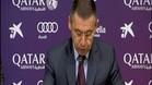 Bartomeu, nuevo presidente del Barça
