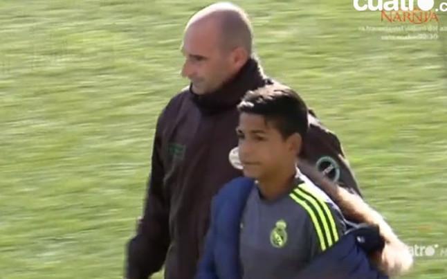 Espont�neo del Real Madrid se cuela en entrenamiento del Atl�tico