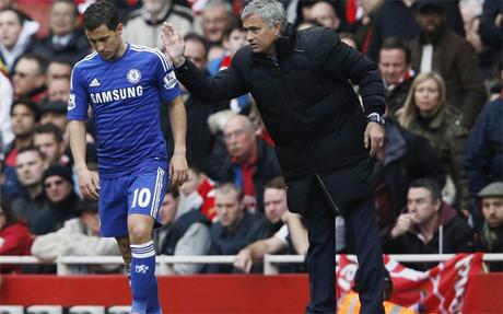 Hazard y Mourinho se han intercambiado mensajes