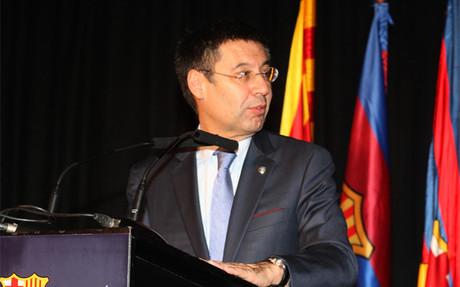 Josep Maria Bartomeu,presidente del FC Barcelona