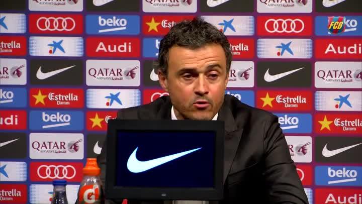 """Luis Enrique: """"Sergi Roberto ser� vital en los pr�ximos a�os"""""""