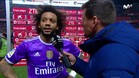 """Marcelo: """"Nos hemos relajado después del gol"""""""