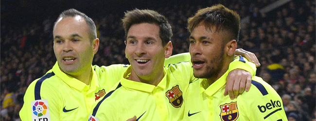 Neymar se doctora y el Bar�a, a 'semis'