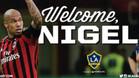 Nigel Dejong, nuevo jugador de los Galaxy