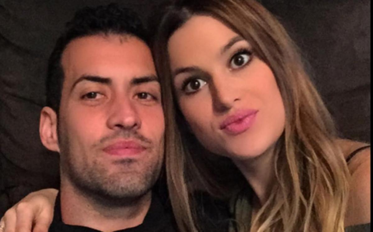 Nace el primer hijo de Sergio Busquets y Elena Galera