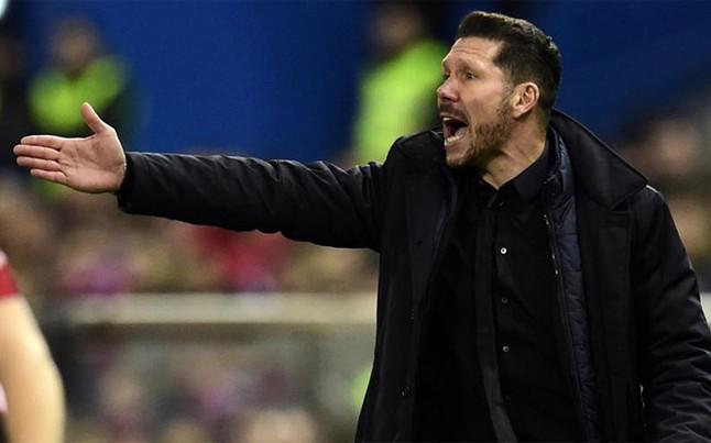 Simeone no cree que el empate sea un mal resultado