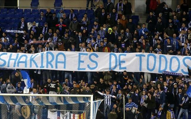 Proponen una multa de 4.000 euros al Espanyol por las pancartas contra Piqu�