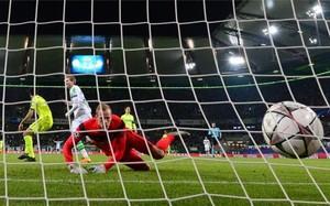 Schürrle, marcando el único gol del partido