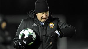 Slutski abandonará el CSKA Moscú tras el partido ante el Tottenham.