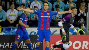 Aicardo podría sufrir una lesión en su rodilla derecha