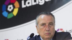 Fernando Roig, también molesto con la actuación arbitral