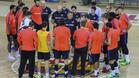 Xavi Pascual trabaja a destajo con sus jugadores