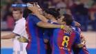 Ronaldinho volvió a reencontrarse con Giuly a lo grande