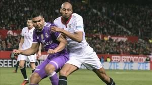 El sevillista NZonzi fue una pesadilla para el Real Madrid en el Sánchez Pizjuán