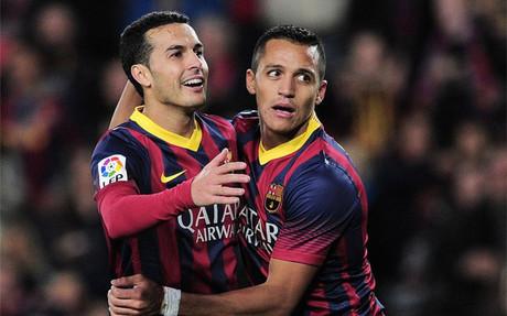 Alexis y Pedro vuelven al once inicial del Barça contra el Athletic Club