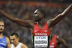 David Rudisha, buque insignia del atletismo keniano