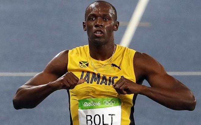 La velocidad endiablada de Usain Bolt entusiasma a los patrones de la NFL