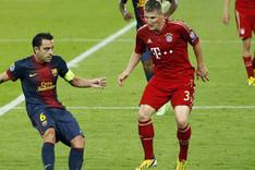El FC Barcelona no pudo superar al Bayern de M�nich en el �ltimo precedente
