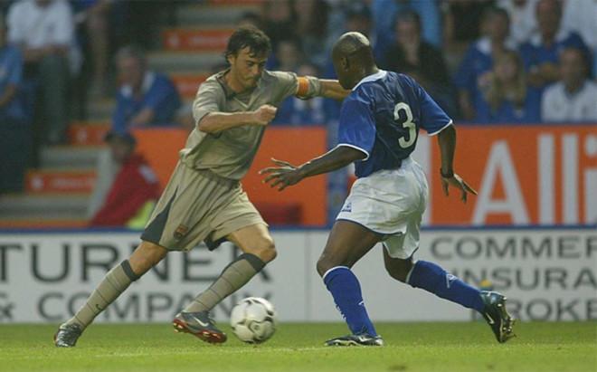 Leicester y Bar�a se vieron las caras en 2003