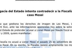 Leo Messi emiti� un comunicado de prensa para explicar las �ltimas informaciones