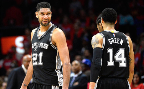 Los Spurs empataron la serie ante los Clippers
