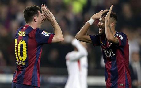 Messi y Neymar, gol asegurado