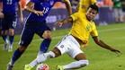Rafinha ya se entrena a tope con Brasil pensando en R�o
