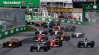 Salida del último GP de F1 de Canadá