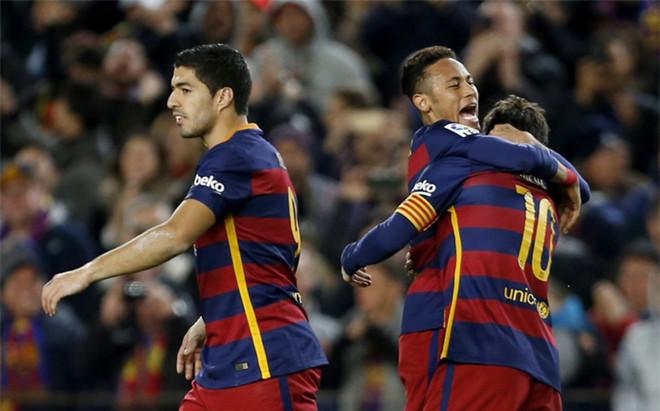 Su�rez marc� otro gol para el tridente del FC Barcelona