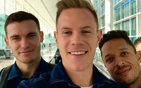 Ter Stegen, Vermaelen y Adriano ya est�n en Valencia