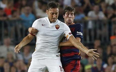 Totti, como en el Gamper, volver� al Camp Nou