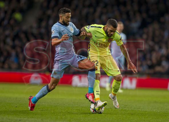 صور : مباراة مانشستر سيتي - برشلونة 1-2 ( 24-02-2015 )  1424816286103