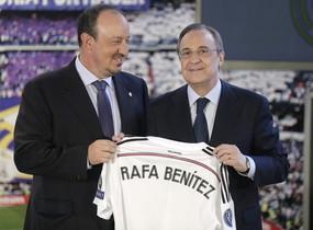 Florentino no apoyó a Benítez desde su inicio