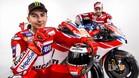 Lorenzo y Dovizioso, compañeros en Ducati