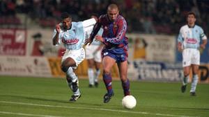 El gol de Ronaldo al Compostela