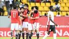 Egipto tiene pie y medio en cuartos de finak