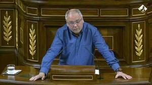 Félix Alonso, durante su intervención en el Congreso