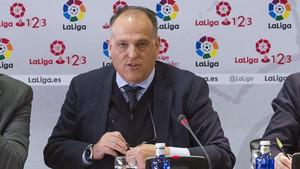 Javier Tebas, presidente de LaLiga Santander
