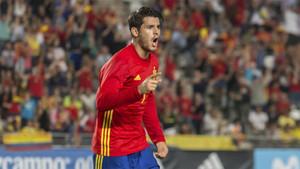 Álvaro Morata quiere triunfar con la selección española en el Mundial de Rusia 2018