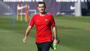 Valverde ya ha planificado toda la semana