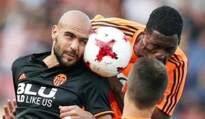 Zaza marcó uno de los goles del Valencia