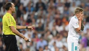 El Real Madrid aún no ha ganado en el Bernabéu en la Liga Santander 2017 / 2018