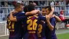 El Barcelona B quiere hacerse fuerte en el Mini Estadi