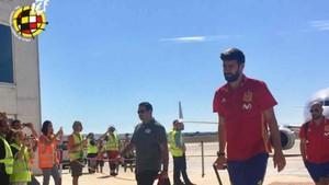 Piqué ya se encuentra en Alicante