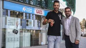 Alexandre Días, con Antonio Gassó, CEO de GAES