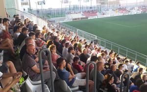 La afición del Club Deportivo Acero