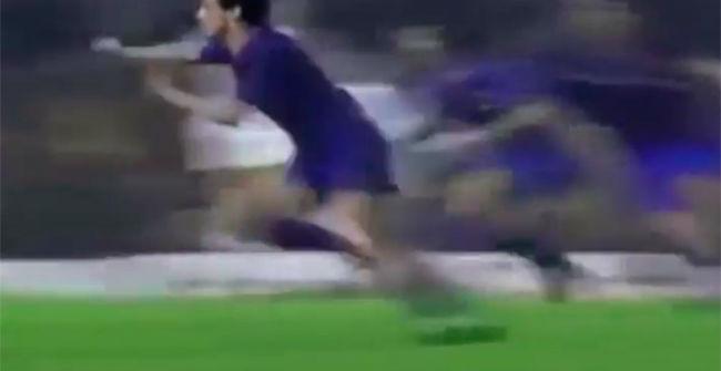 30 a�os del eterno gol de Julio Alberto