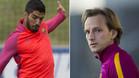 El FC Barcelona quiere atar a Luis Su�rez y Rakitic
