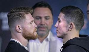 Canelo Álvarez y Golovkin pelean este sábado