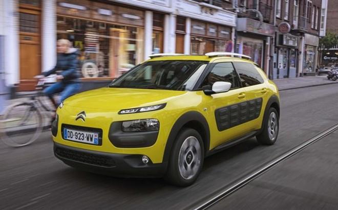 La inconfundible línea del Citroën C4 Cactus